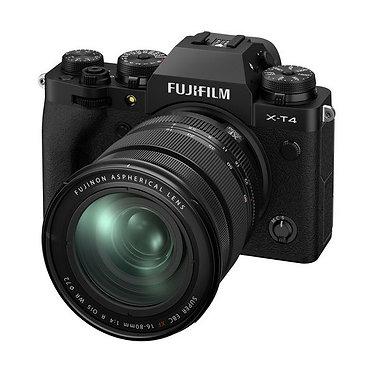 Fujifilm X-T4 Black/Silver + XF16-80mmF4 R OIS WR
