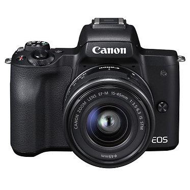 Canon EOS M50 + EF-M 15-45 STM
