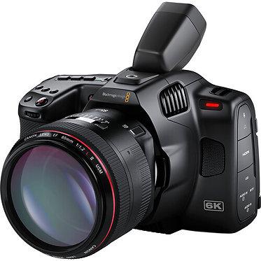 Blackmagic Pocket Cinema Camera 6K Pro + Visor p/ 6K Pro