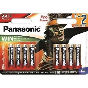 Pilhas AA Panasonic Pro Power