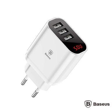 Baseus Alimentador Compacto Comutado USB