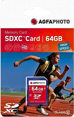 Agfaphoto SDXC 64GB 45MB/S