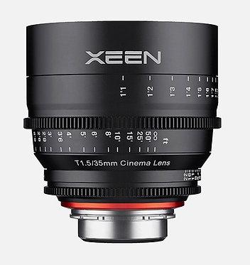Samyang Xeen  35mm T1.5 Cine p/Canon