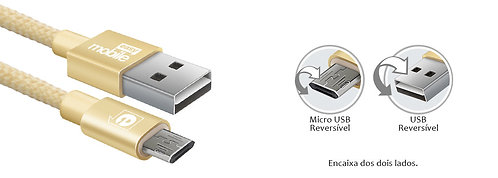 Easy Mobile-USB Cable TYPE-C new fashion reversível