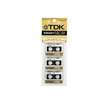 TDK Microcassete MC69 (pack 3)