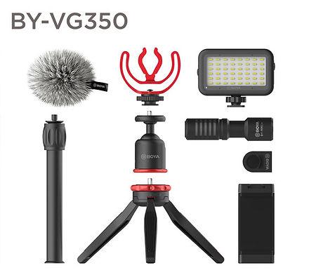 Boya BY-VG350 Kit Vídeo Avançado p/ Smartphone