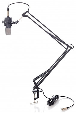 Bespeco suporte microfone braço MSRA10