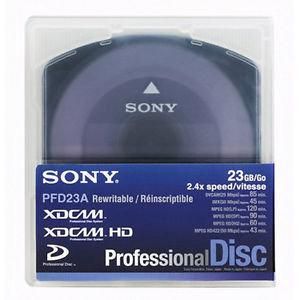Sony XDCAM PFD23 23GB