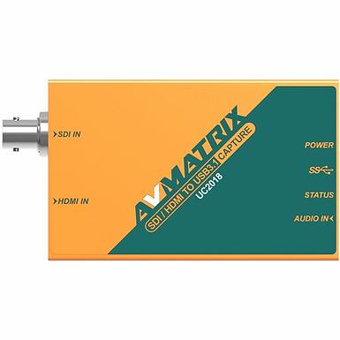 Avmatrix conversor UC2018 – SDI/HDMI para USB-C 3.1