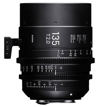 Sigma Cine 135mm T2.0