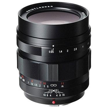 Voigtländer Nokton 42.5mm f/0.95 MFT Black
