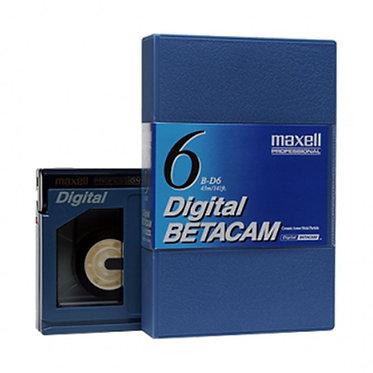 Maxell Digital BETACAM (mini) B-D6 - 12m