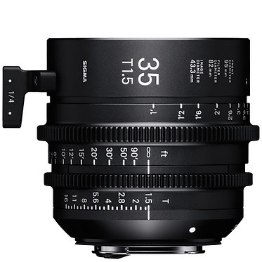 Sigma Cine 35mm T1.5
