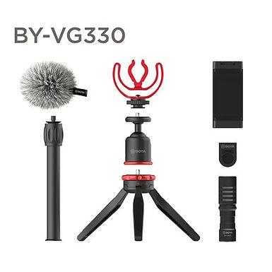 Boya BY-VG330 Kit Vídeo p/ Smartphone