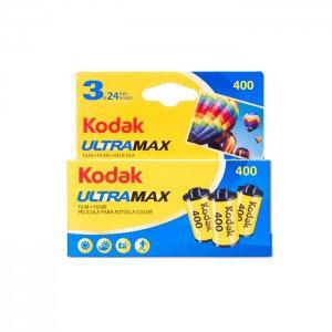 Kodak Rolos UltraMax 400 - 135/36 - Pack 3