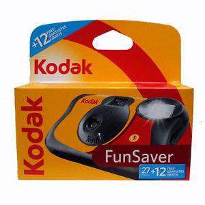 Kodak Funsaver 27+12 Exp camera fotográfica descartável