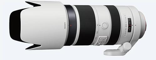 Sony  70–400 mm F4–5.6 G SSM II