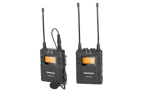 Saramonic UwMic9 microfone de lapela s/fios Kit (RX9+TX9)