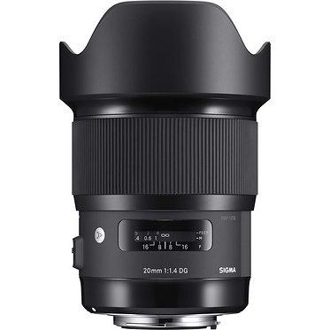Sigma 20mm F1.4 DG HSM | ART
