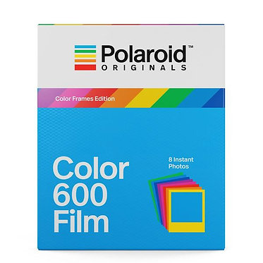 Polaroid Color Film 600 Color Frames