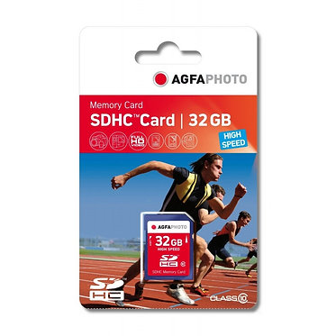 Agfaphoto SDHC 32GB High Speed C10
