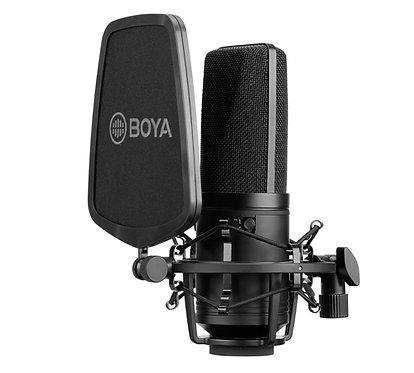 BOYA BY-M1000 Microfone Estúdio Condensador