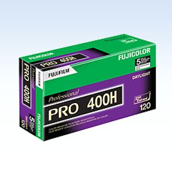 Filme negativo cores Fujicolor pro 400H