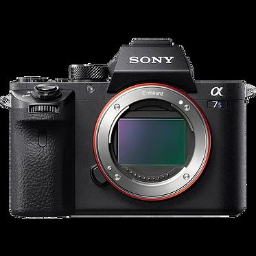 Sony a7S II - corpo