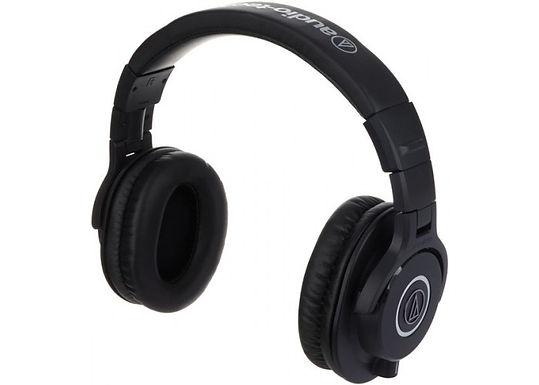 Auscultadores Audio Técnica M40X
