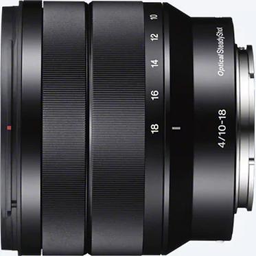 Sony E 10-18 mm F4 OSS