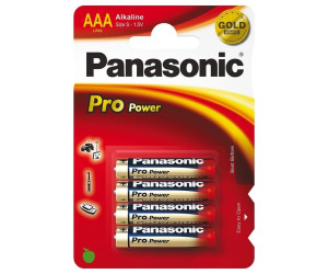 Panasonic AAA pro power 4x
