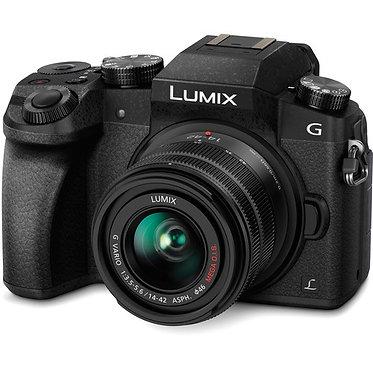 Panasonic Lumix DMC-G7 + 14-42mm Black