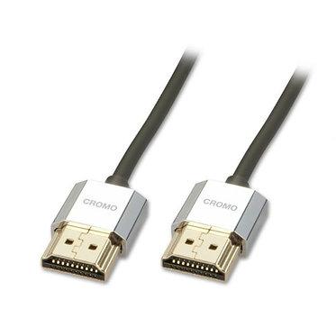 Cabo Cromo HDMI para Ethernet