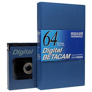 Maxell Digital Betacam -  64m