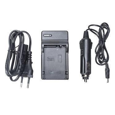 Carregador p/ Baterias Sony NP-FM50 e compatíveis