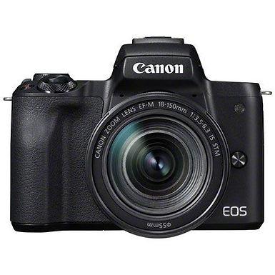 Canon EOS M50 Kit + EF-M 18-150 STM BK