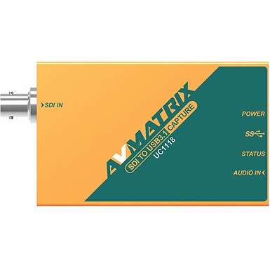 Avmatrix conversor UC1118 – SDI para USB-C 3.1