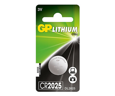 GP Electronic Device Battery - CR2025