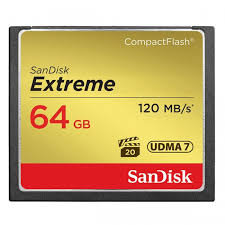 Sandisk Extreme CF64GB 120M/S