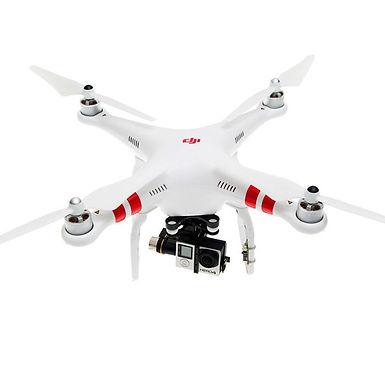 DJI Phantom 2 Quadcopter + Zenmuse H4-3D Gimbal
