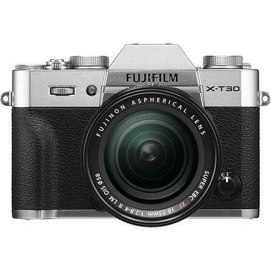 Fujifilm X-T30 + XF 18-55mm F2.8-4 R LM OIS (Silver/Black/Charcoal Silver)