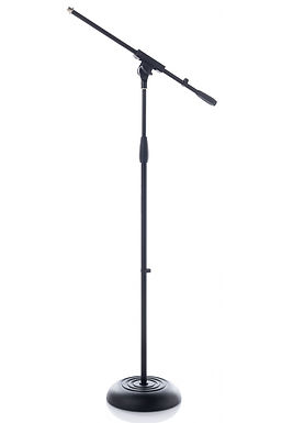 Bespeco SH2GR Suporte p/Microfone c/Base Redonda
