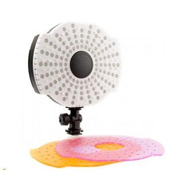 Quenox Luz Vídeo Redonda Regulável com 126 Leds