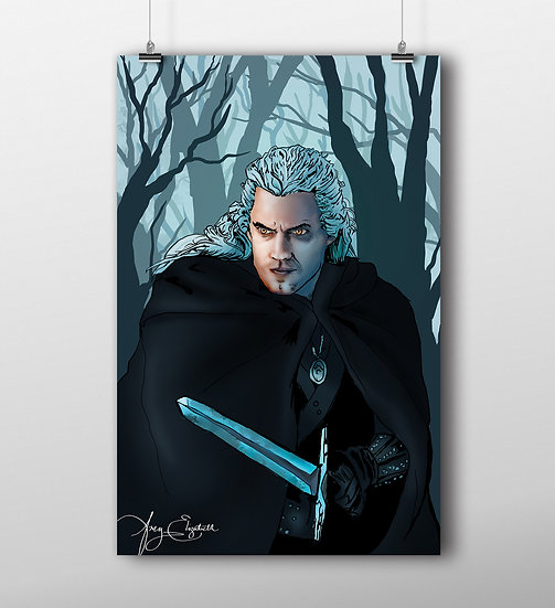 The Witcher 11x17 Print