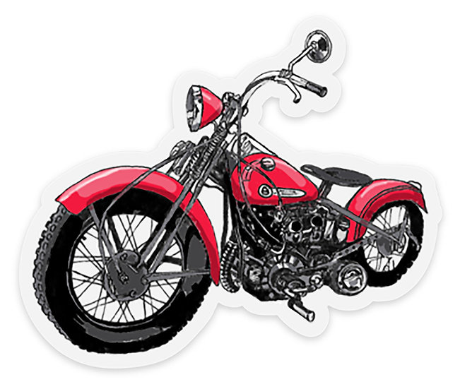 Motorcycle Sticker