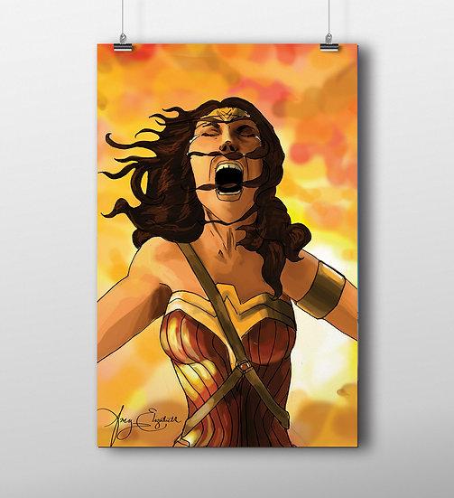 Wonder Woman 11x17 Print