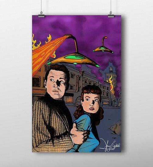War of The Worlds 11x17 Print