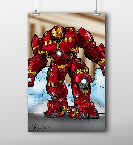 HulkBuster 11x17 Print