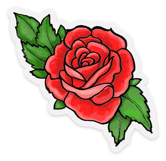 Rose Tattoo Magnet