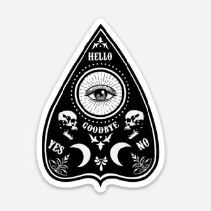 Planchette Sticker